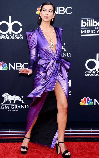 Recording artist Dua Lipa attends the 2018 Billboard Music Awards at MGM Grand Garden Arena on May 20, 2018 in Las Vegas, Nevada. (Photo by Broadimage/Rex Features/Shutterstock)