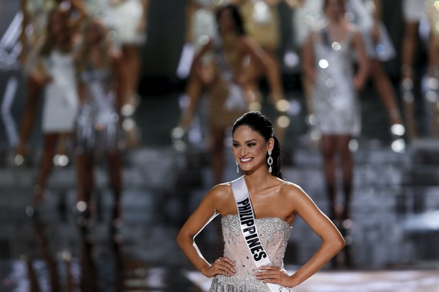 Miss Philippines Pia Alonzo Wurtzbach poses after being named as a finalist during the 2015 Miss Universe Pageant in Las Vegas, Nevada December 20, 2015. Wurtzbach was later crowned Miss Universe 2015. (Photo by Steve Marcus/Reuters)