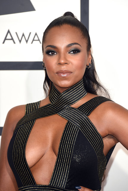 Singer Ashanti attends The 57th Annual GRAMMY Awards at the STAPLES Center on February 8, 2015 in Los Angeles, California. (Photo by Jason Merritt/Getty Images)
