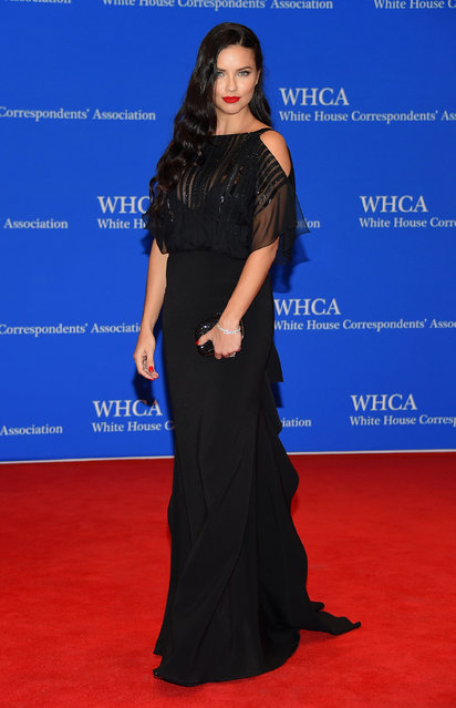 Adriana Lima attends the 101st Annual White House Correspondents' Association Dinner at the Washington Hilton on April 25, 2015 in Washington, DC. (Photo by Michael Loccisano/Getty Images)