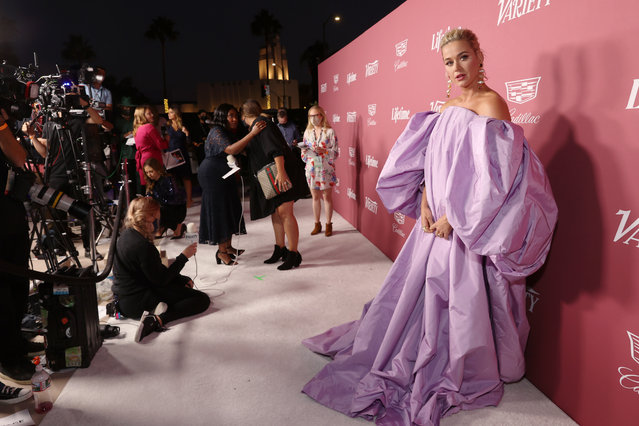 Katy Perry attends Variety's Power of Women Presented by Lifetime at Wallis Annenberg Center for the Performing Arts on September 30, 2021 in Beverly Hills, California. (Photo by Emma McIntyre/Getty Images for Variety)