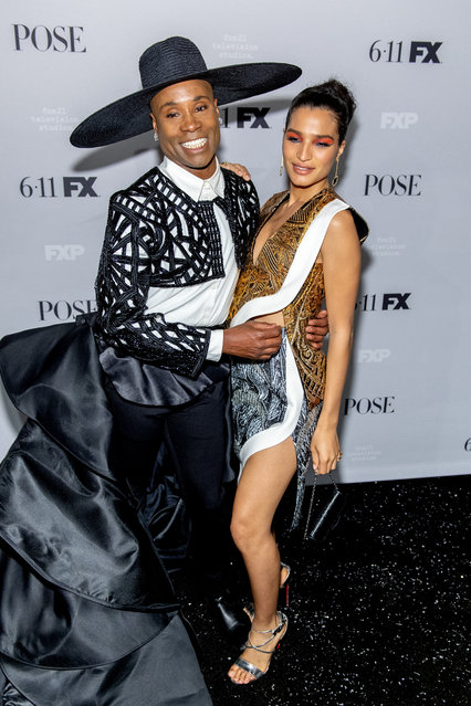 """Billy Porter and Indya Moore attends the FX Network's """"Pose"""" Season 2 Premiere on June 05, 2019 in New York City. (Photo by Roy Rochlin/Getty Images)"""