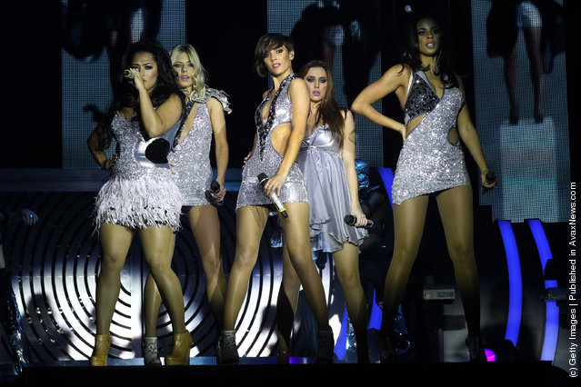 The Saturdays – All Fired Up! Live Tour – Dress Rehearsal
