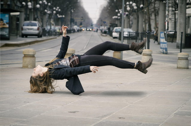 """Levitation"". (Photo by Giovanni Genzini)"