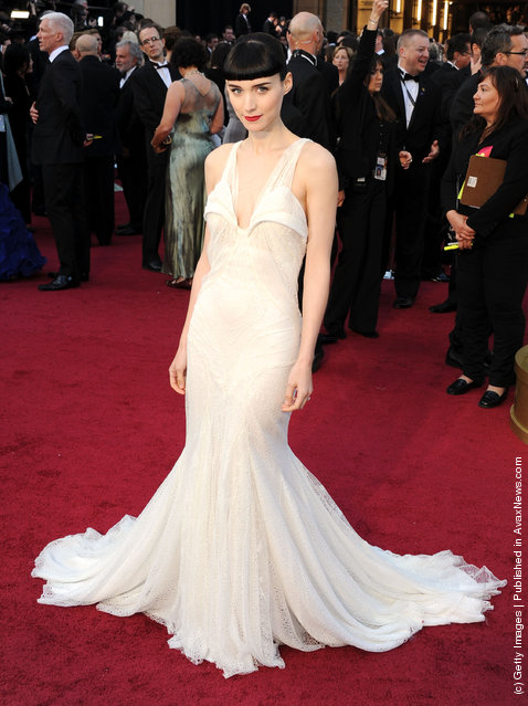 Actress Rooney Mara arrives at the 84th Annual Academy Awards held at the Hollywood & Highland Center