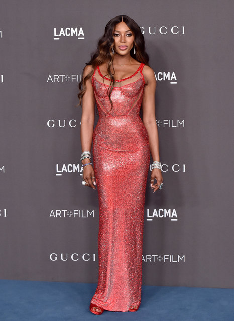 Naomi Campbell attends the 2019 LACMA Art + Film Gala Presented By Gucci on November 02, 2019 in Los Angeles, California. (Photo by Axelle/Bauer-Griffin/FilmMagic)