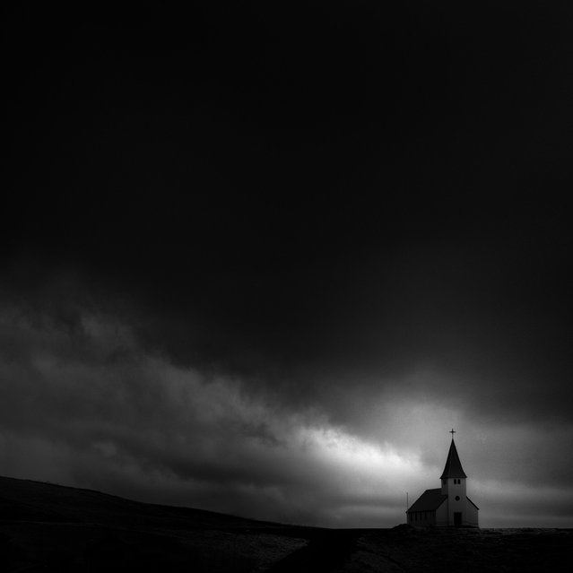 Location: Vik Church Vikøyri. (Photo by Andy Lee/Caters News)
