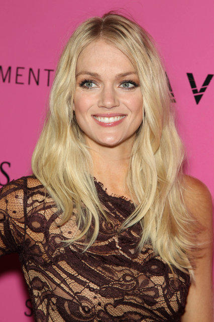 Model Lindsay Ellingson attends the after party for the 2012 Victoria's Secret Fashion Show at Lavo NYC on November 7, 2012 in New York City. (Photo by Jim Spellman/WireImage)