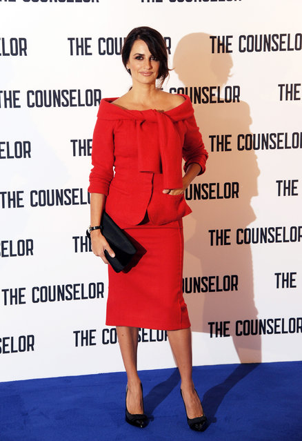 """Penelope Cruz attends a photocall for """"The Counselor"""" at The Dorchester on October 5, 2013 in London, England. (Photo by Eamonn M. McCormack/Getty Images)"""
