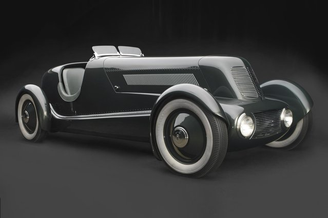 1934 Model 40 Special Speedster. Owned and restored by Edsel & Eleanor Ford House, Grosse Pointe Shores, Michigan. (Photo by Peter Harholdt)