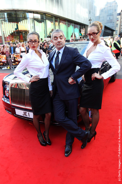 Johnny English Reborn – UK Premiere