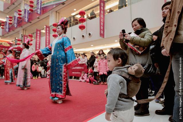 China Celebrates The Lantern Festival