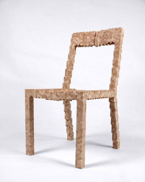 Pixel Chair By Vivian Chiu