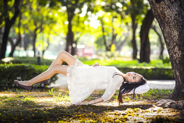 """Sleeping Beauty"". (Photo by Patchara Suensilpong)"