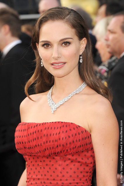 Actress Natalie Portman arrives at the 84th Annual Academy Awards held at the Hollywood & Highland Center