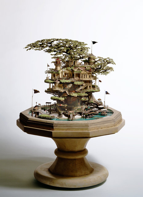 Miniature Architecture By Takanori Aiba