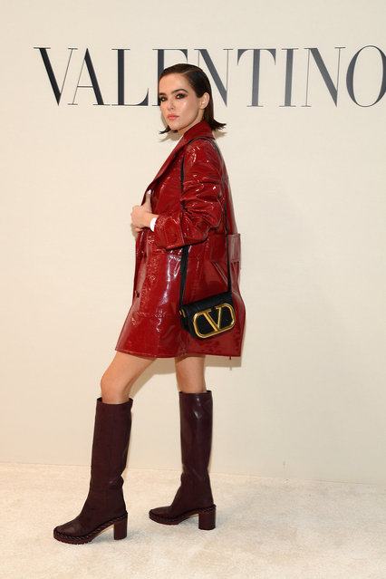 Zoey Deutch attends the Valentino show as part of the Paris Fashion Week Womenswear Fall/Winter 2020/2021 on March 01, 2020 in Paris, France. (Photo by Pascal Le Segretain/Getty Images)