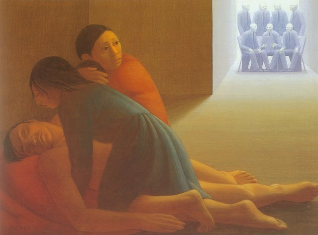 Corporate Decision. Artwork by George Tooker