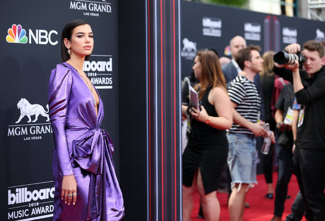 Dua Lipa attends the 2018 Billboard Music Awards at MGM Grand Garden Arena on May 20, 2018 in Las Vegas, Nevada. (Photo by Steve Marcus/Reuters)
