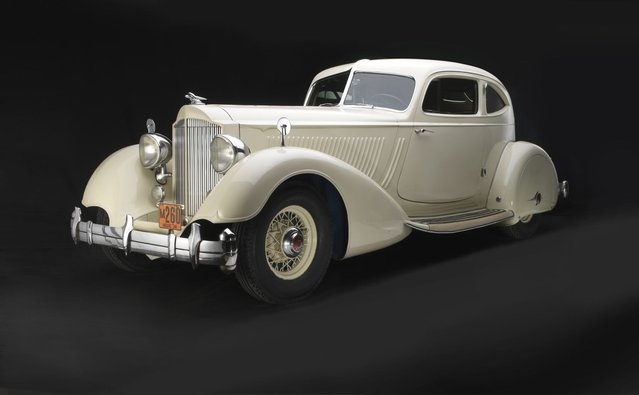 1934 Packard Twelve Model 1106 Sport Coupe by LeBaron. Collection of Robert and Sandra Bahre. (Photo by Peter Harholdt)