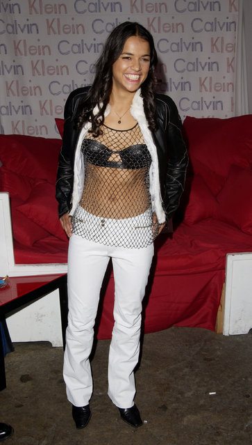 """Michelle Rodriguez during """"Resident Evil"""" Premiere After Party at the GQ Lounge at GQ Lounge in Los Angeles, California, United States. (Photo by J. Vespa/WireImage)"""