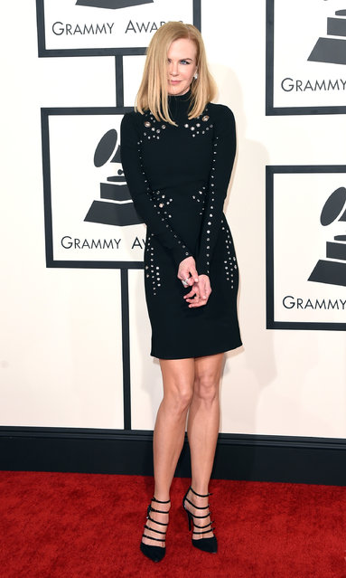 Actress Nicole Kidman attends The 57th Annual GRAMMY Awards at the STAPLES Center on February 8, 2015 in Los Angeles, California. (Photo by Jason Merritt/Getty Images)