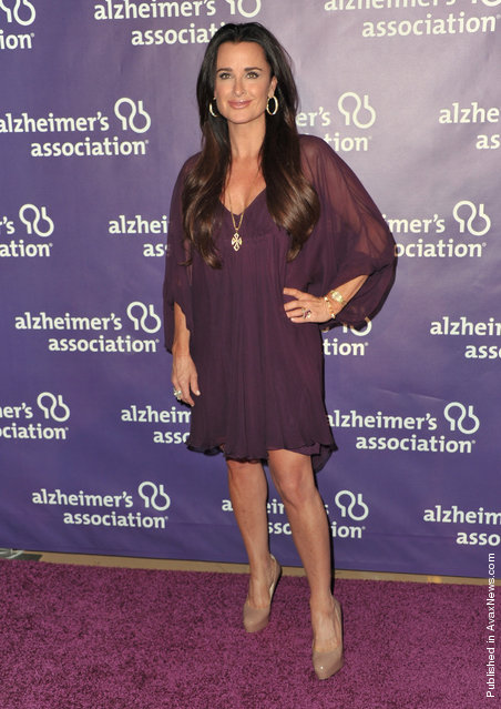 TV personality Kyle Richards
