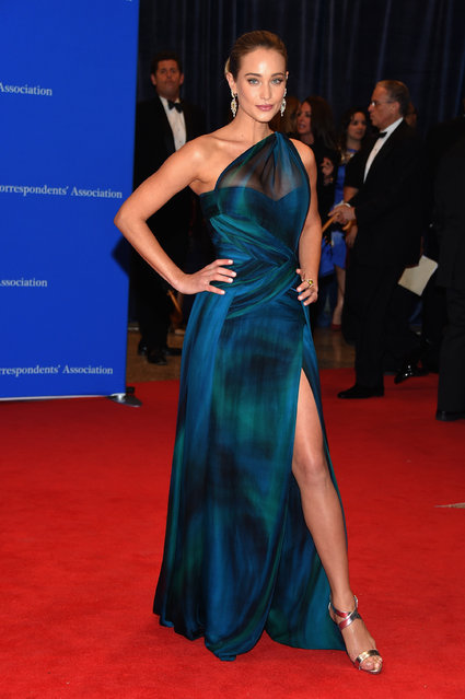 Hannah Davis attends the 101st Annual White House Correspondents' Association Dinner at the Washington Hilton on April 25, 2015 in Washington, DC. (Photo by Michael Loccisano/Getty Images)