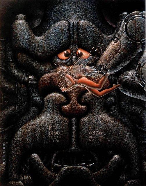 Cover for Fierro Magazine. Artwork by Oscar Chichoni