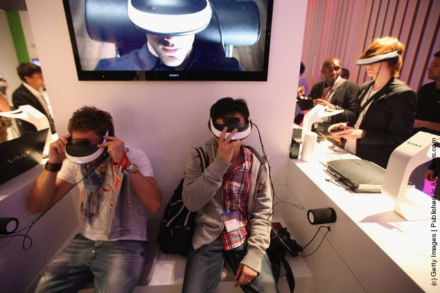 Sony Personal 3D Viewers