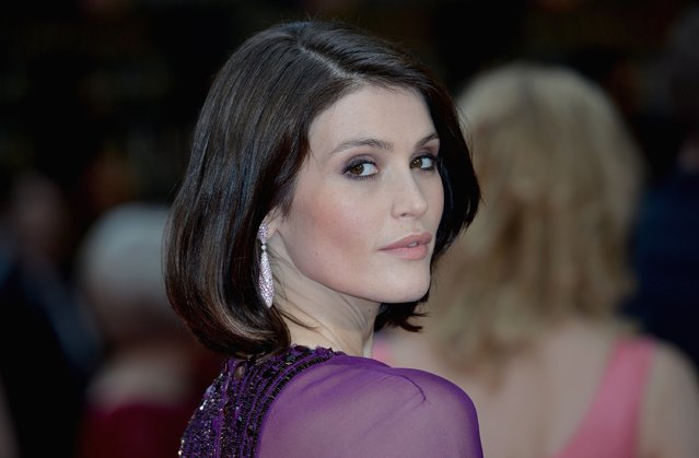 Gemma Arterton attends The Olivier Awards with Mastercard at The Royal Opera House on April 3, 2016 in London, England. (Photo by Anthony Harvey/Getty Images)