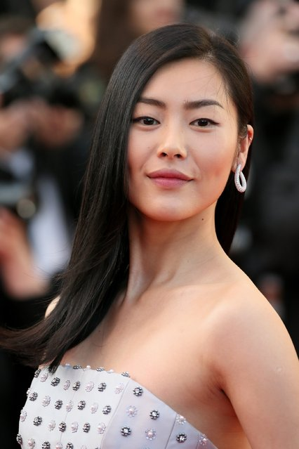 """Model Liu Wen attends the """"Little Prince"""" (Le Petit Prince) Premiere  during the 68th annual Cannes Film Festival on May 22, 2015 in Cannes, France. (Photo by Neilson Barnard/Getty Images)"""