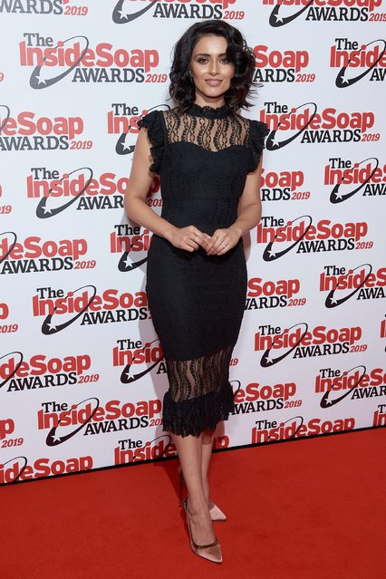 Bhavna Limbachia attends the Inside Soap Awards at Sway on October 07, 2019 in London, England. (Photo by Joe Maher/Getty Images)
