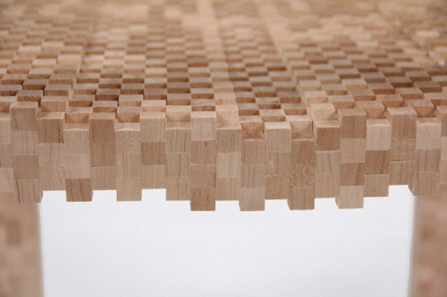 Pixel Chair By Vivian Chiu