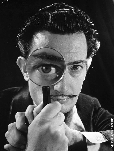 Spanish Surrealist Painter Salvador Dali, 1946