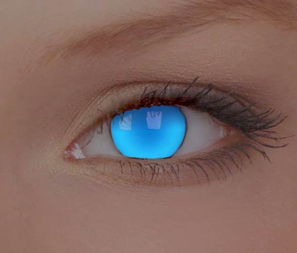 Geeky Contact Lenses