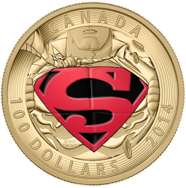 To celebrate the 76 years of Superman, the Warner Bros. Consumer Products and Royal Canadian Mint have created four new collector coins featuring Superman from DC Comics. The decision to continue making these limited edition coins was made after the last year's sale of Superman coins was a complete success