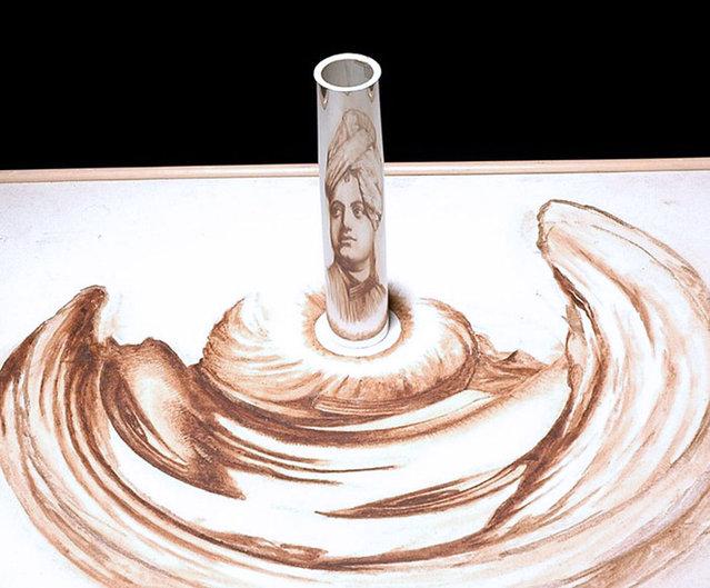 Anamorphic Art By Jonty Hurwitz