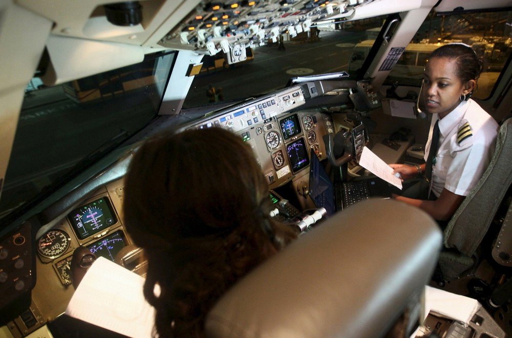 All-Female Flight Crew a First for Ethiopia Airlines
