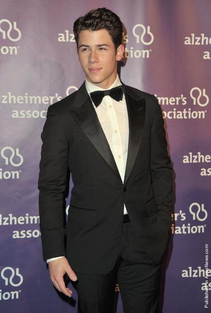 Singer Nick Jonas
