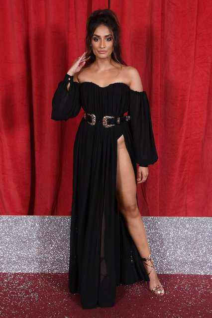 Rukku Nahar attends the British Soap Awards at The Lowry Theatre on June 01, 2019 in Manchester, England. (Photo by David Fisher/ITV/Shutterstock)