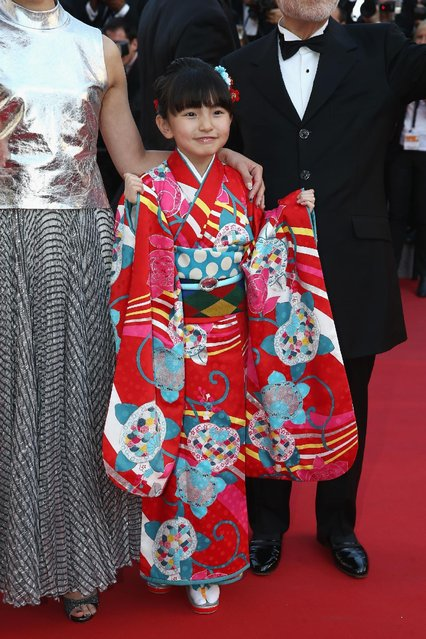 """Actress Rio Suzuki attends the Premiere of """"The Little Prince"""" during the 68th annual Cannes Film Festival on May 22, 2015 in Cannes, France. (Photo by Andreas Rentz/Getty Images)"""