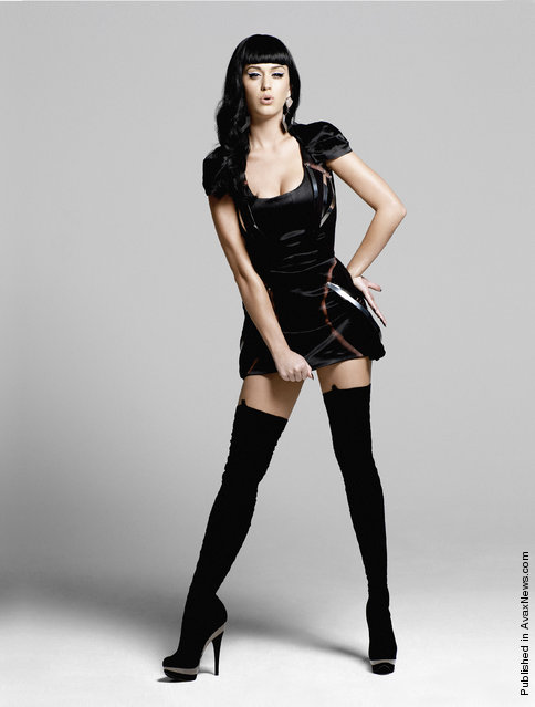 Singer Katy Perry covers the August 2010 issue of Esquire UK in a photo shoot by Yu Tsai