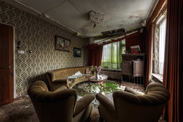 Decay sets in inside a house in the Netherlands. (Photo by Vincent Jansen)