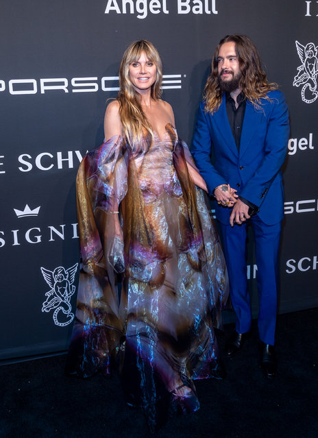 Model/TV Personality and Tom Kaulitz attend the Angel Ball 2019 at Cipriani Wall Street on October 28, 2019 in New York City. (Photo by Mark Sagliocco/Getty Images)