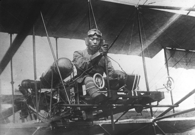 Japanese aviator, 1914. (Photo by Bibliotheque nationale de France via The Atlantic)