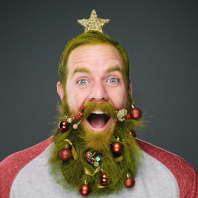 Beards Of Christmas By Stephanie Jarstad