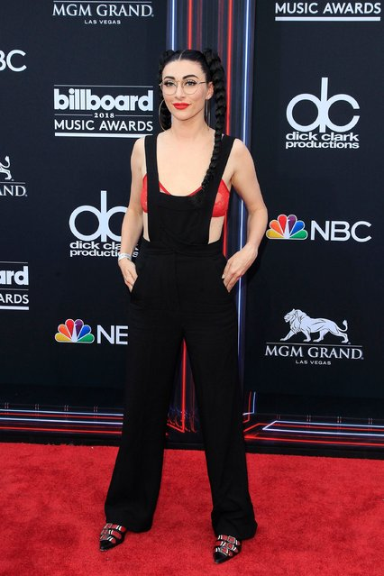 Recording artist Amy Renee Noonan aka Qveen Herby attends the 2018 Billboard Music Awards at MGM Grand Garden Arena on May 20, 2018 in Las Vegas, Nevada. (Photo by Nina Prommer/EPA/EFE/Rex Features/Shutterstock)