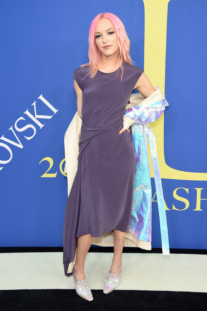 Bria Vinaite attends the 2018 CFDA Fashion Awards at Brooklyn Museum on June 4, 2018 in New York City. (Photo by Dimitrios Kambouris/Getty Images)