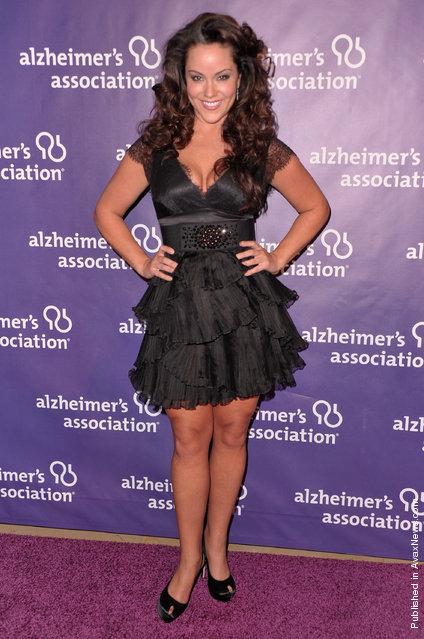 Actress Katy Mixon